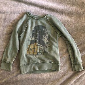 Toddler boys Star Wars Darth Vader sweatshirt 2T